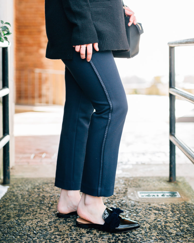 Emily Lucille - Styling a Black and Blue Outfit